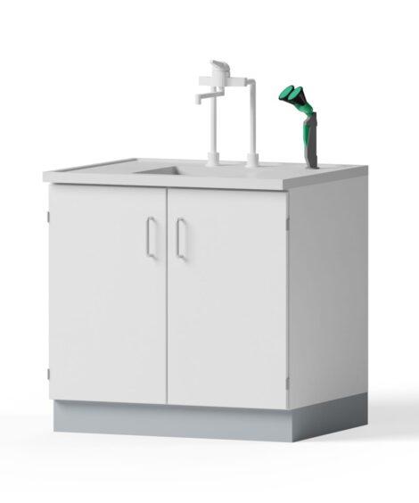 Laborspüle - 900x900x750mm